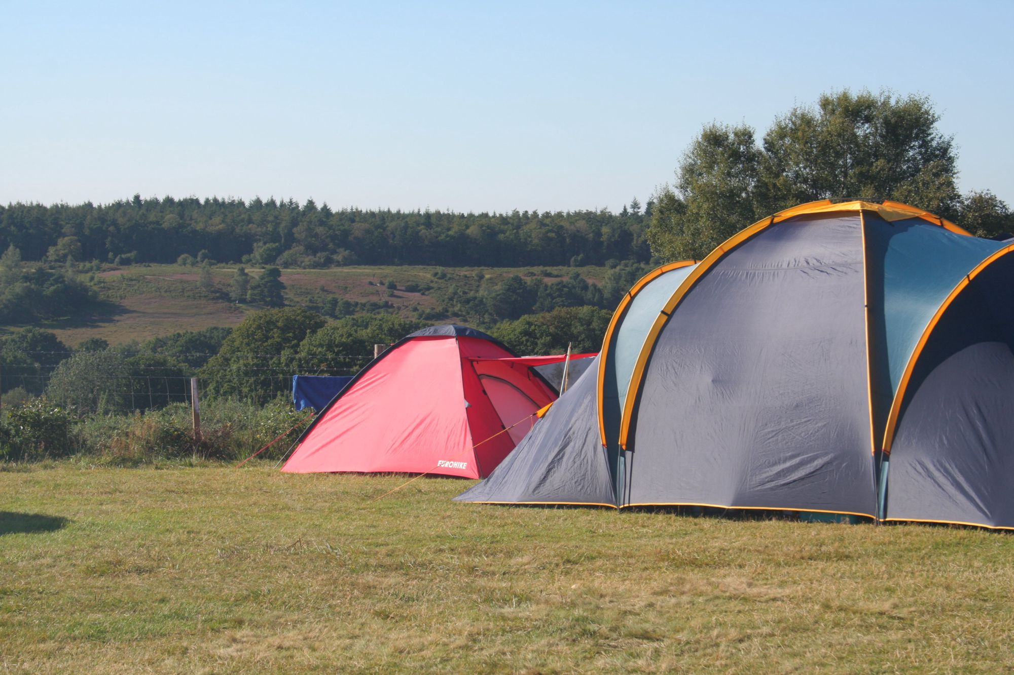 Campsites in Fordingbridge holidays at Cool Places