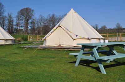 Bell Tent 2 BRAMBLE (platform and porch)