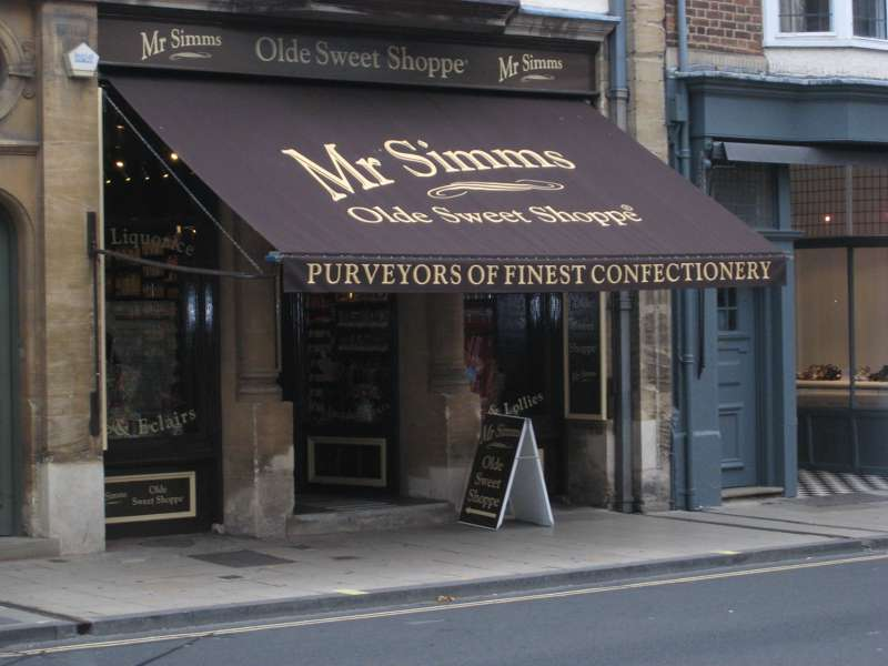 Mr Simm's Olde Sweet Shoppe