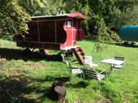 Dorset Gypsy Caravan - Red