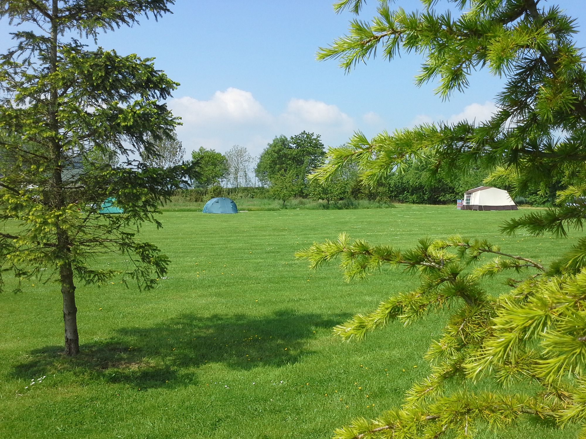 Campsites in the Shropshire Hills Area of Outstanding Natural Beauty