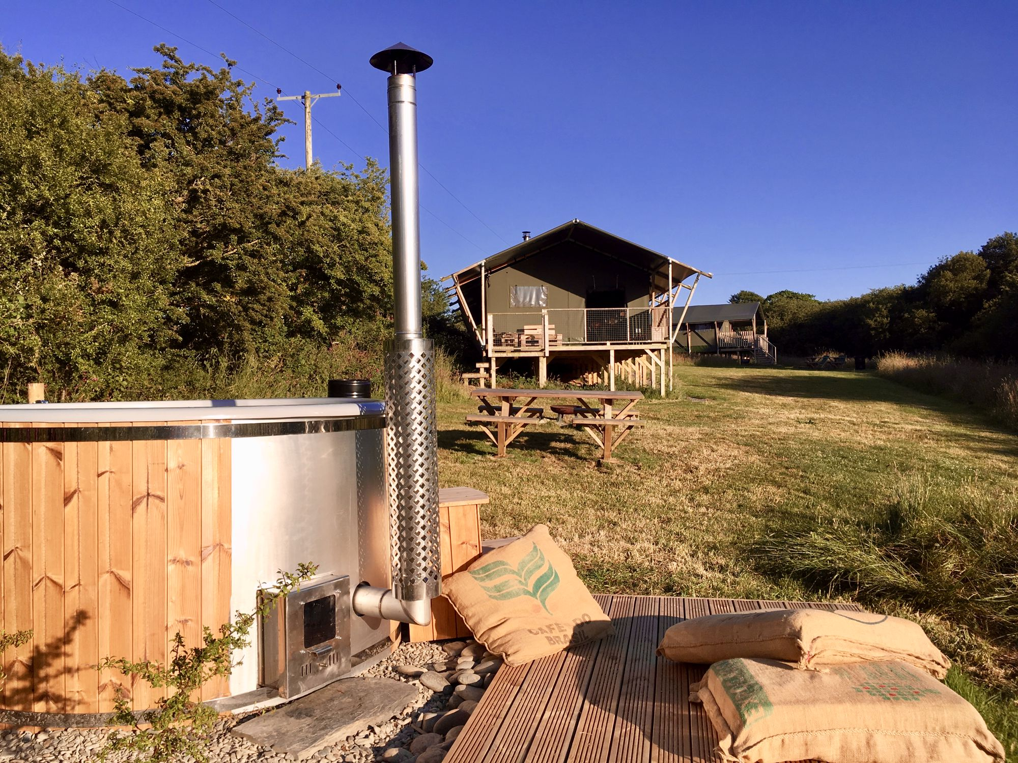 Glamping in Aberporth holidays at Cool Places