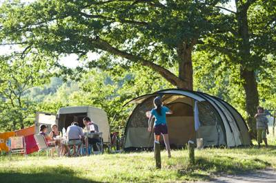 Huttopia Champion 'Old Fashioned' Camping in France