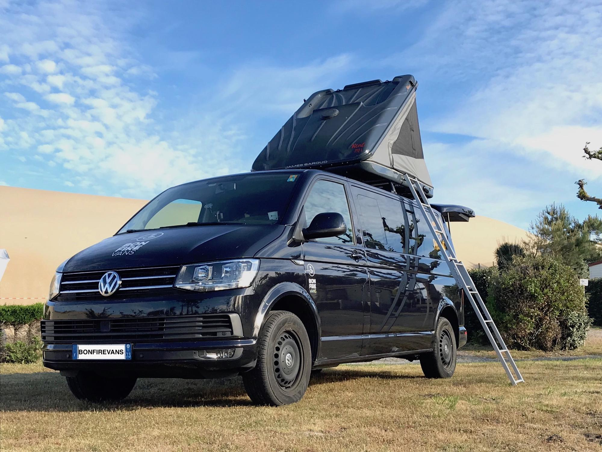 Campervans in France holidays at I Love This Campsite