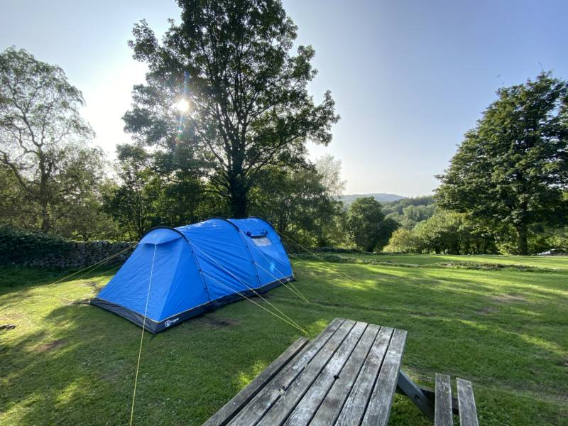 Howgill Lodge Caravan & Camping Park Barden, Skipton, North Yorkshire BD23 6DJ