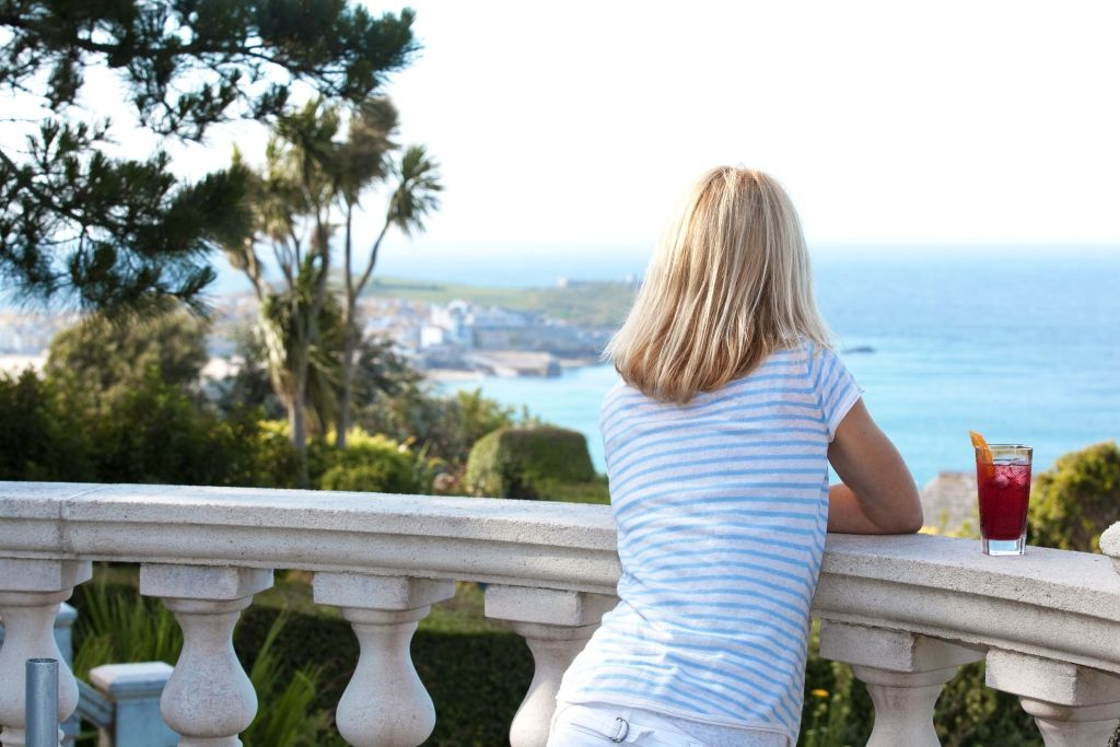 Fabulous views from the Blue Hayes Private Hotel