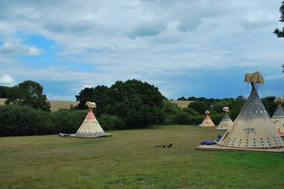 Tipi means 'dwelling' in old Lakota language, though the ones you'll stay in at Big Sky Tipis are Sioux in design.