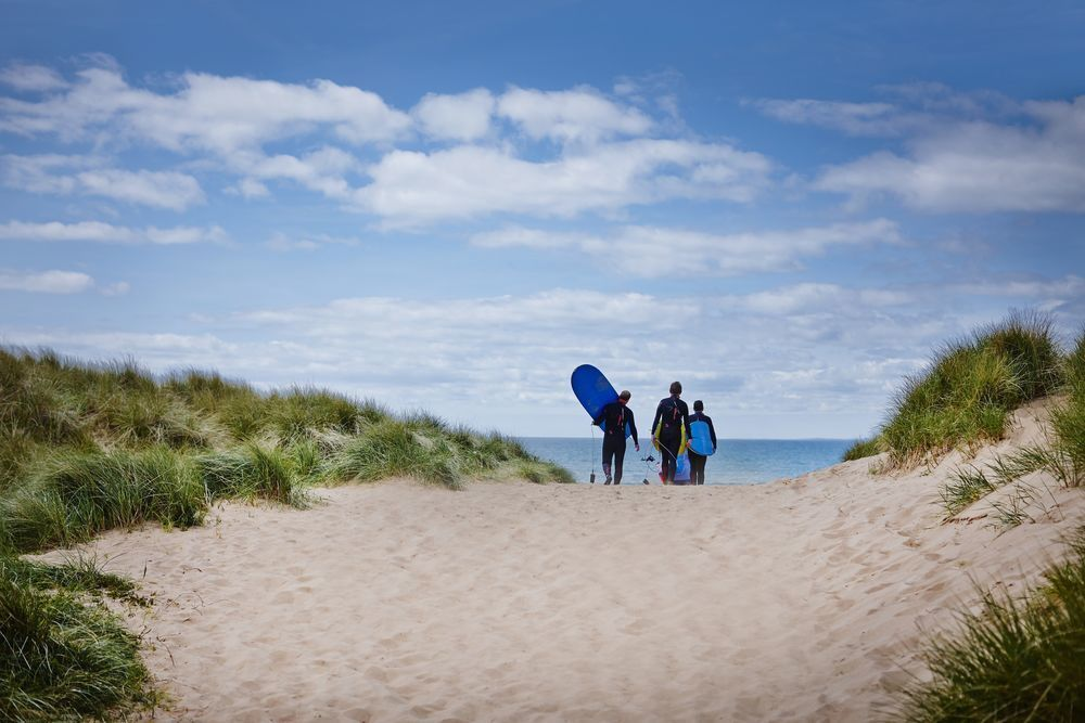 Glamping on the Gower Peninsula