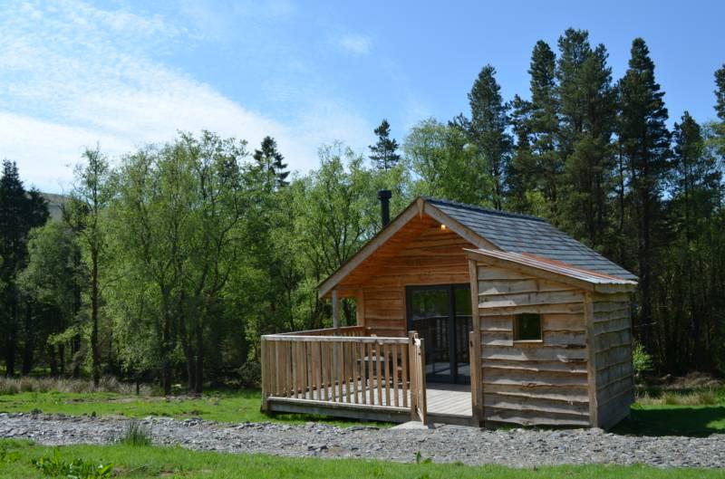 Bryn Clun Log Cabin