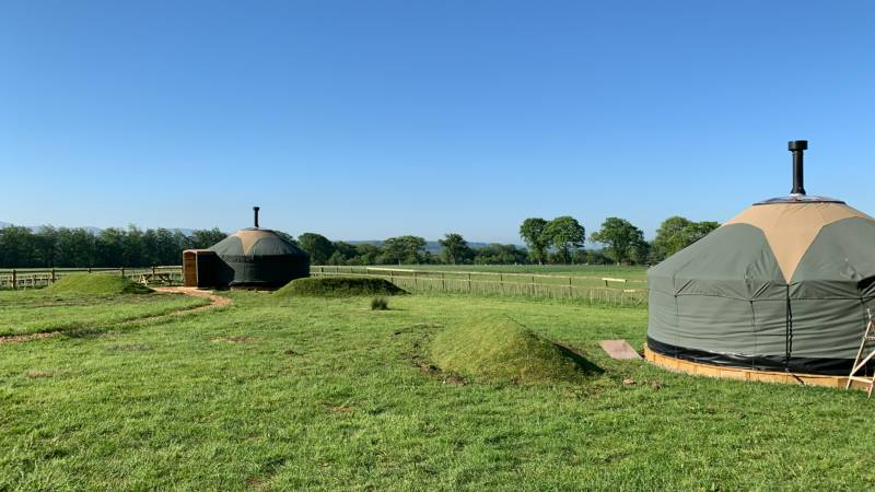 Hadrian's Wall Glamping Burthinghurst, Walton, Brampton, Cumbria CA8 2JW