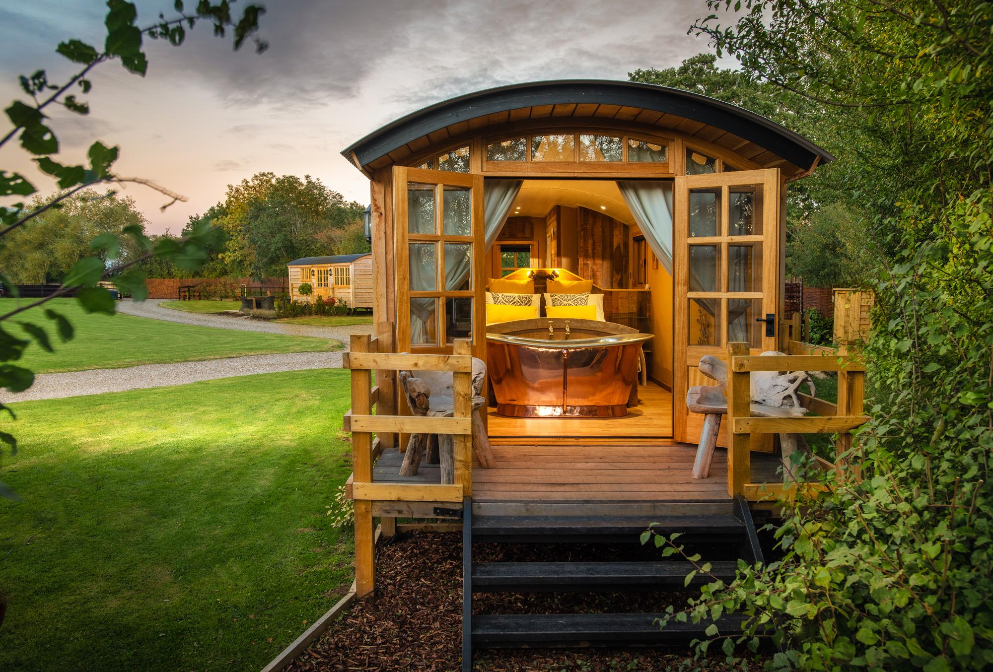Glamping in Worcestershire holidays at Cool Places