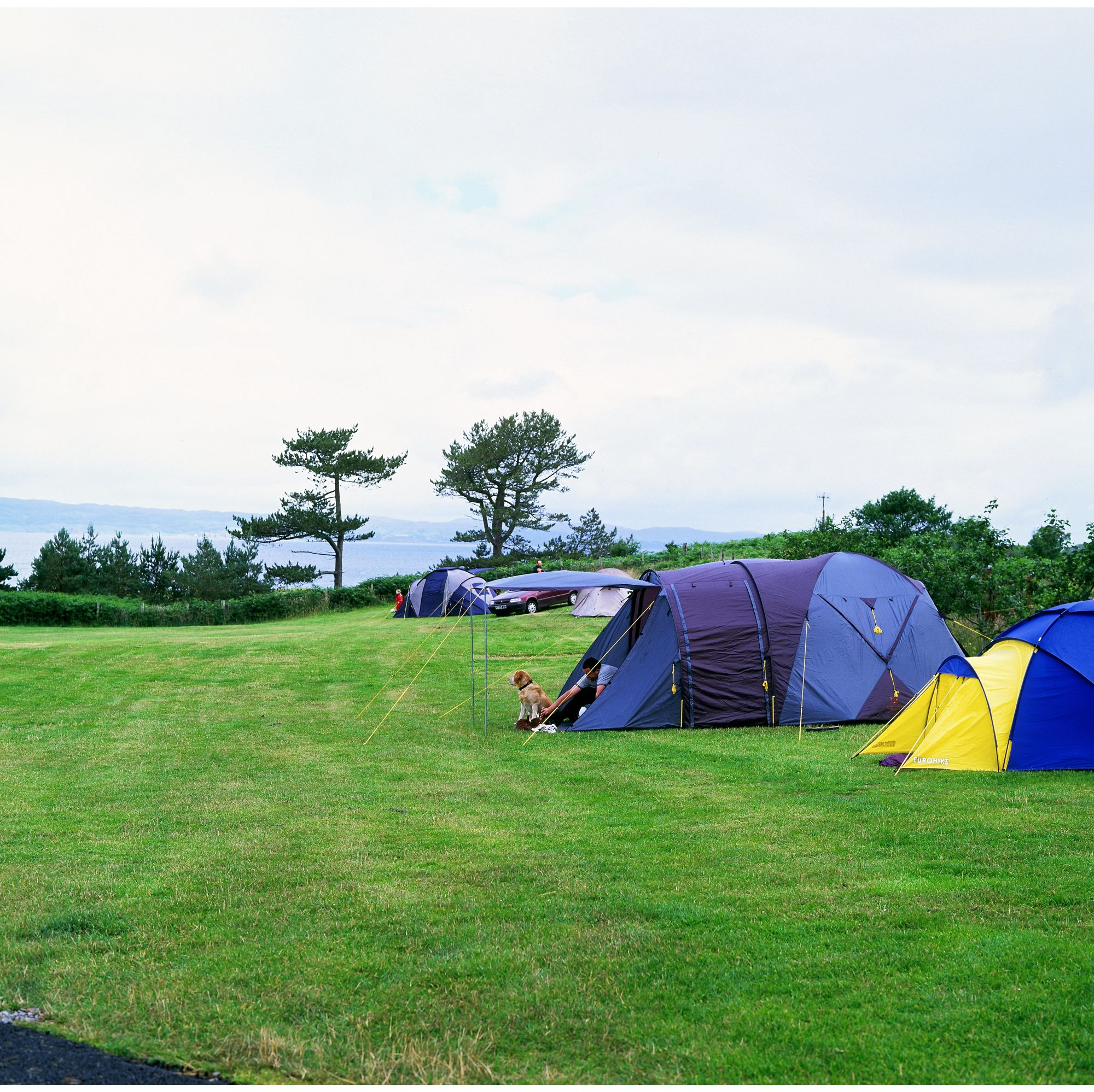 so thoroughly salubrious, and why everybody seems so relaxed and friendly while camping at Camusdarach.