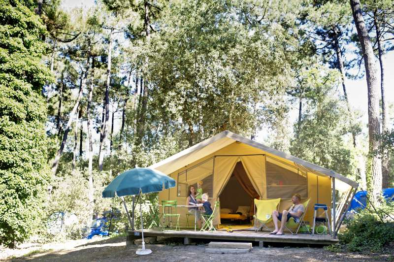 Classic V Wood & Canvas Tent