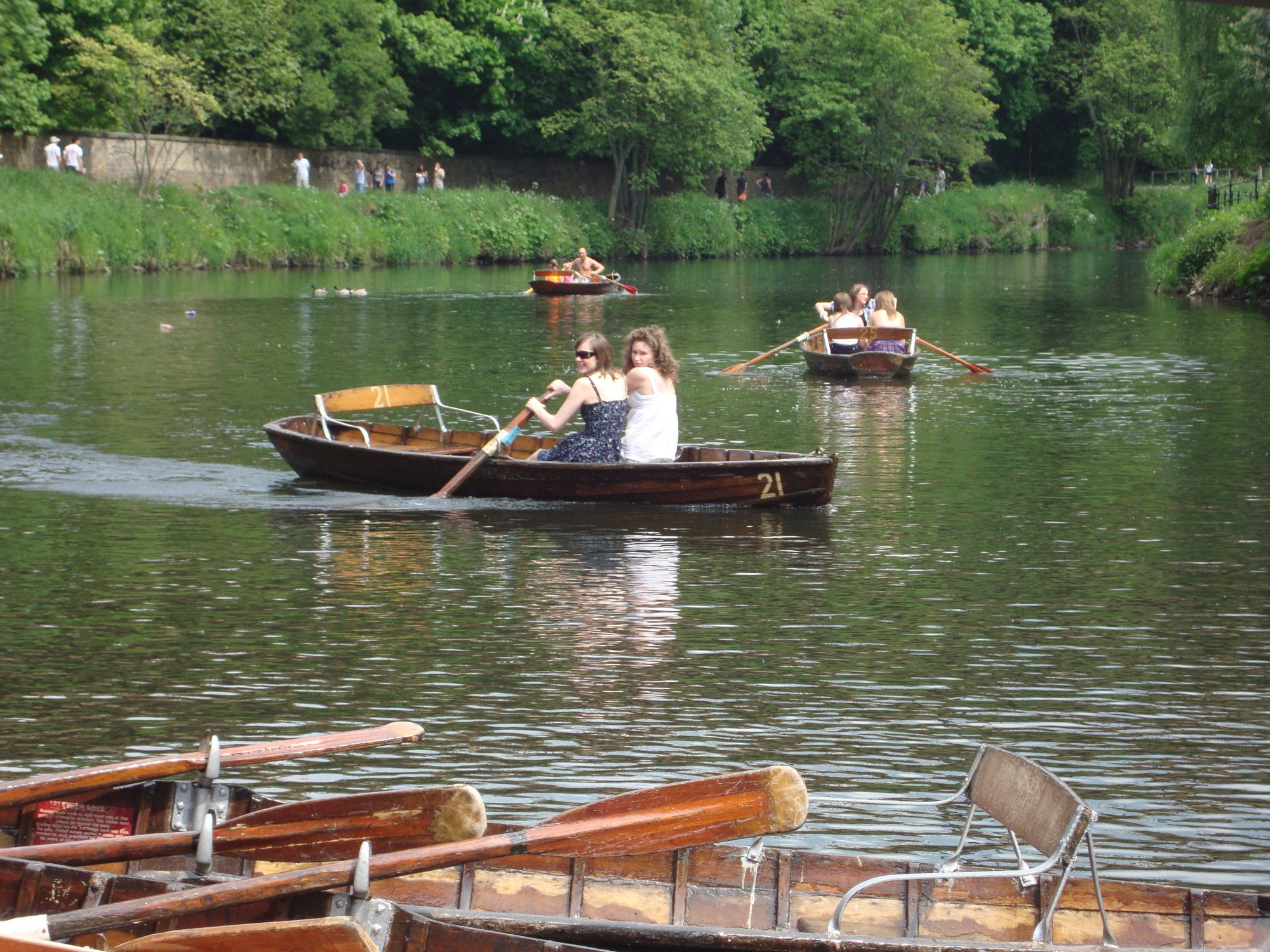 Browns Rowing Boats