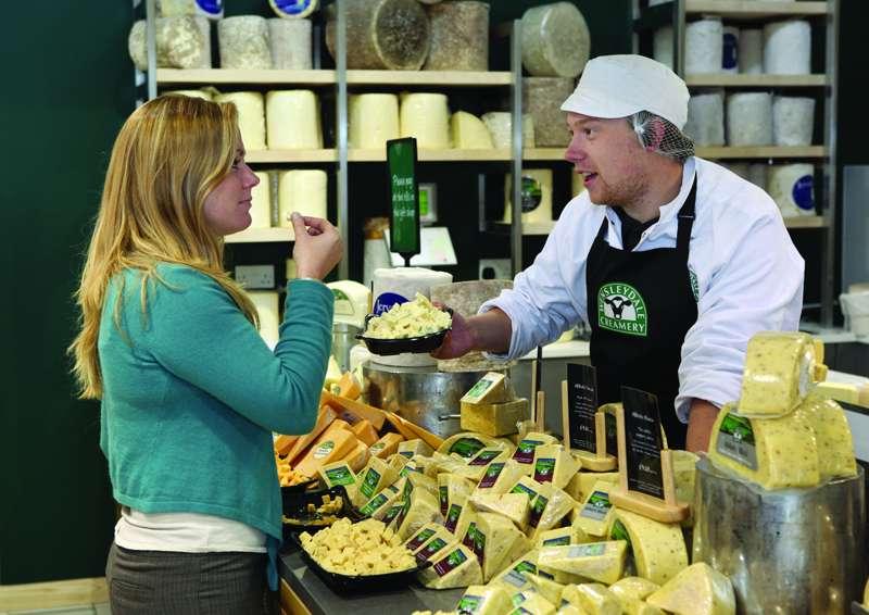 Wensleydale Creamery Cheese Shop