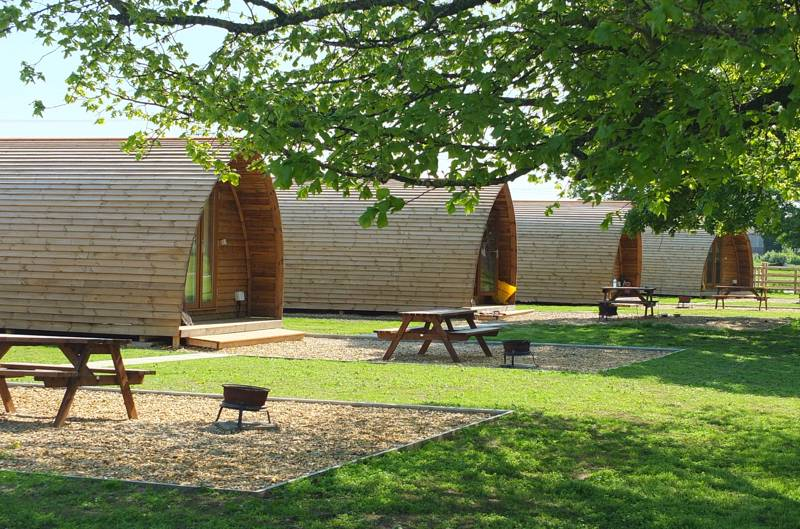 Glamping Pods and Cabins