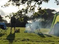 Camping for 1-6 people in tents/campervans