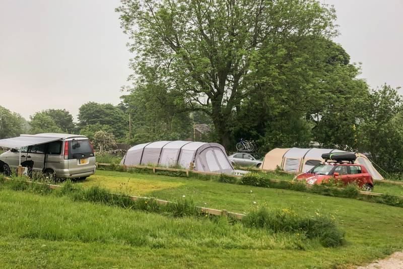Hillside tent/campervan all-weather