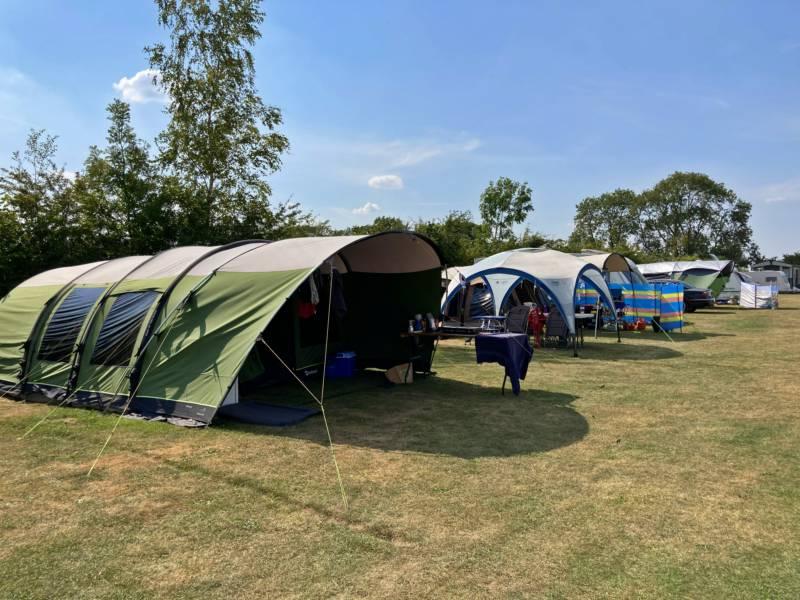 Grass Camping Pitch - Non Elec
