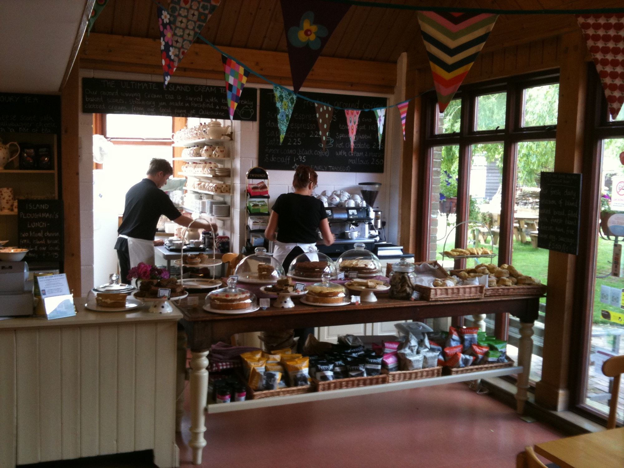 Chessell Pottery Barns Cafe