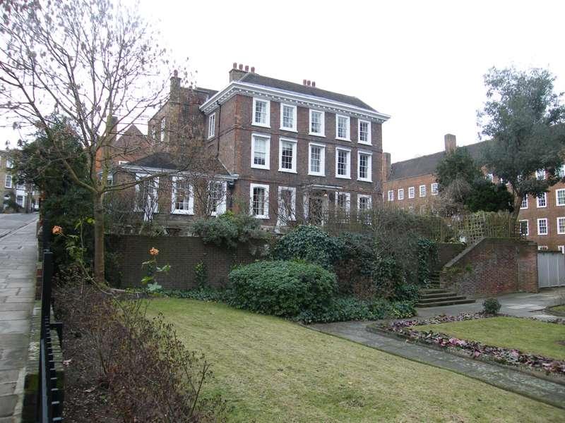 Burgh House and around