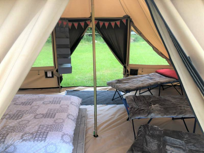 Arniss Bell Tent - Fully Equipped