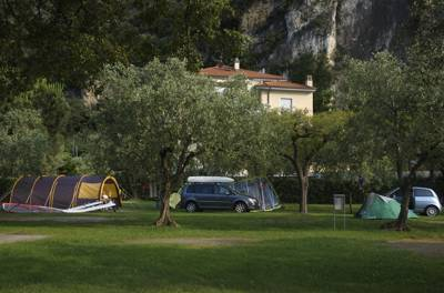 A boutique campsite just a hop, skip and a jump from Lake Garda.