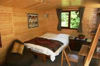 Cosy and secluded Cabin in one of the Sussex High Weald's loveliest rural retreats.
