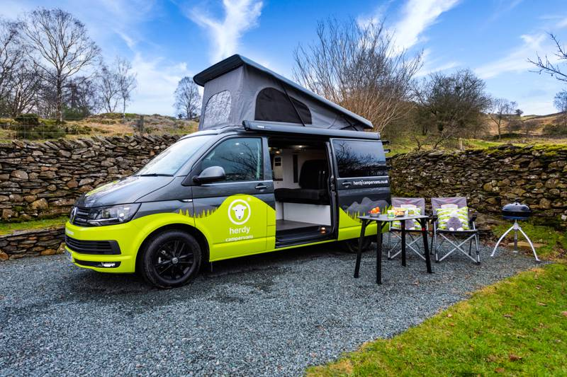 Herdy Campervan VW T6 automatic
