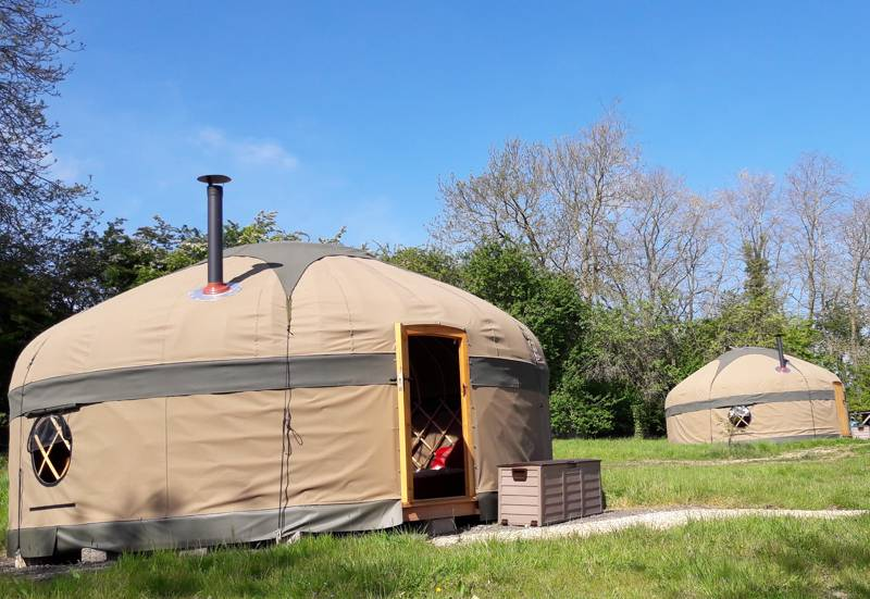 Campden Yurts Hillside Nursery, King Combe Lane, Chipping Campden, Gloucestershire GL55 6PN