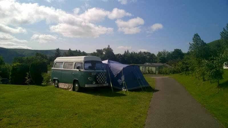 Ochil Classic Campers Lindon, Powmill, Dollar, Perthshire FK14 7NS