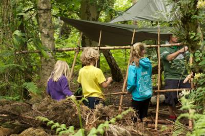 Wild camping and bushcraft just beyond the M25 – who'dve thought?