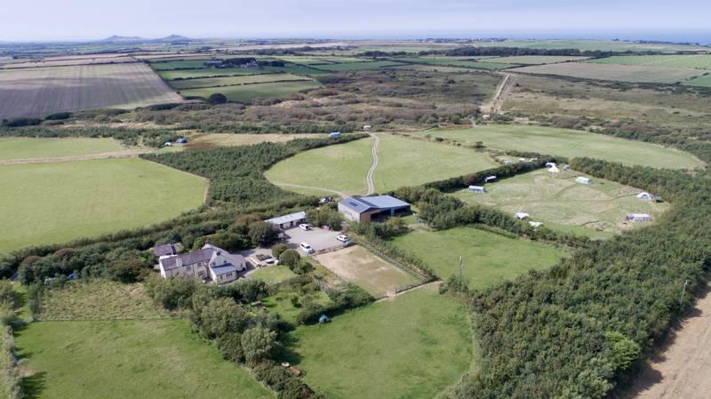Ty Parke Camping & Yurt Holidays Parke, Llanreithan, Mathry, Pembrokeshire SA62 5LG