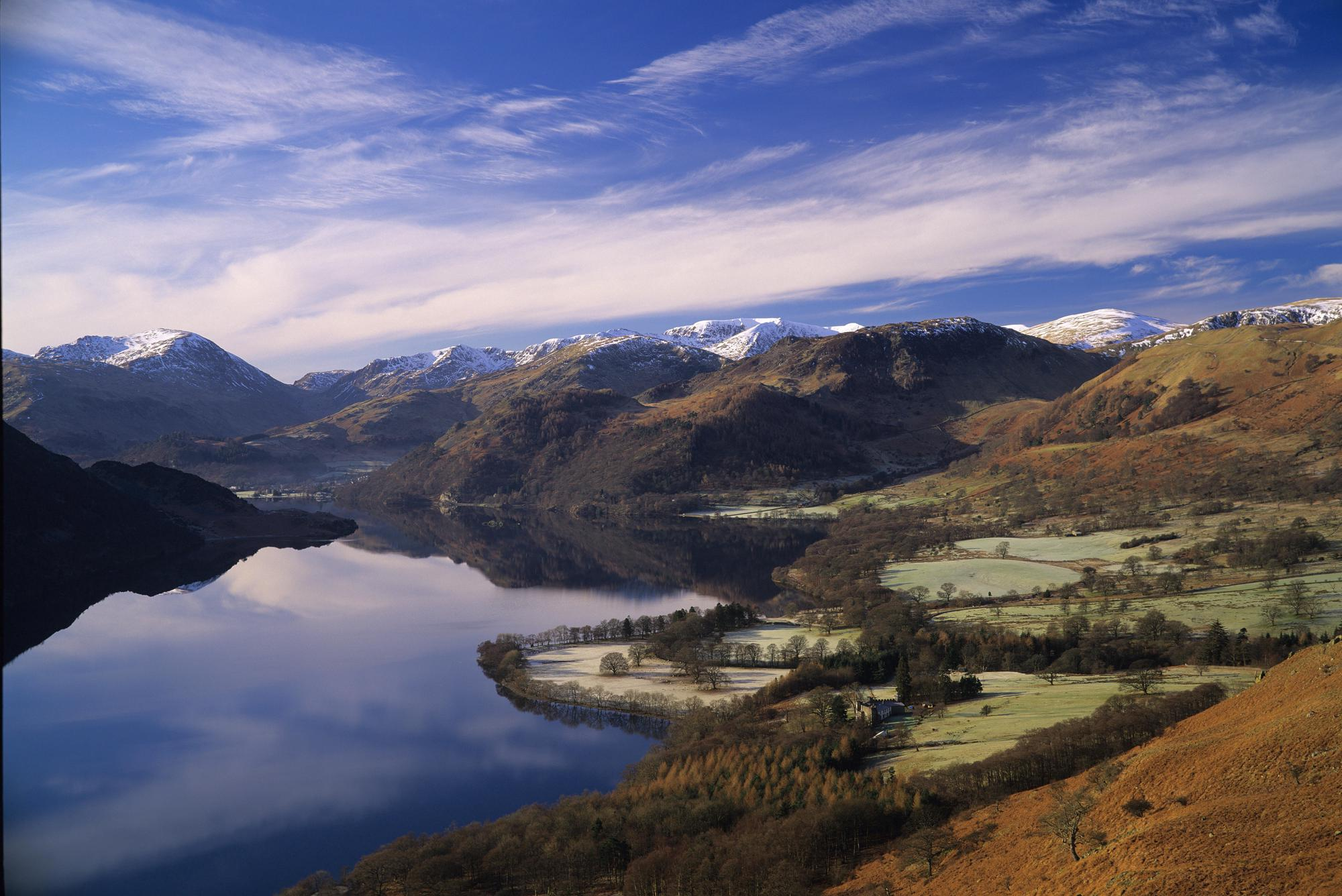 Camping Destinations in the UK and Europe, including prominent national parks across the UK.