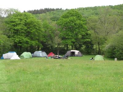Meadow Sweet Wild Camping Area, max 20