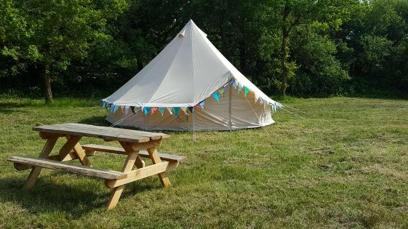 Wild Birds Bell Tent