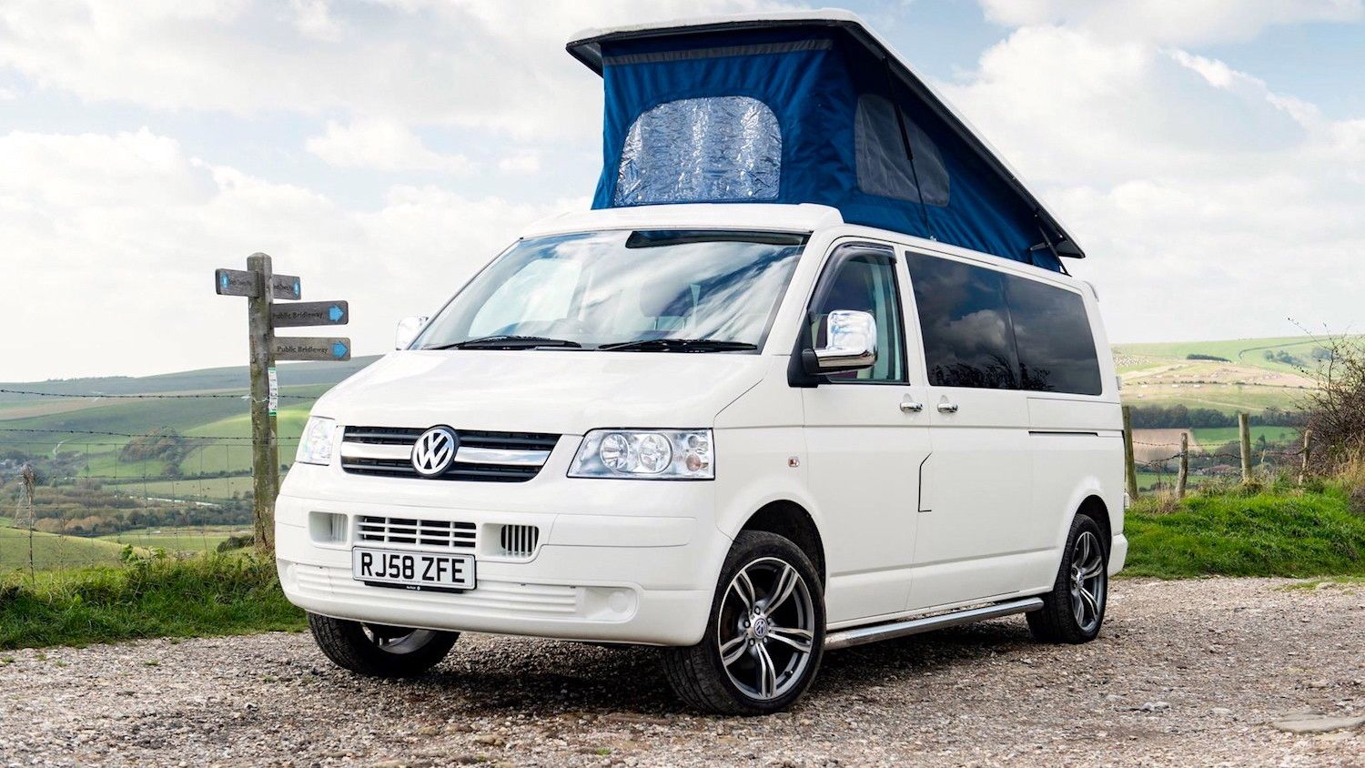 Campervans in West Sussex holidays at Cool Camping