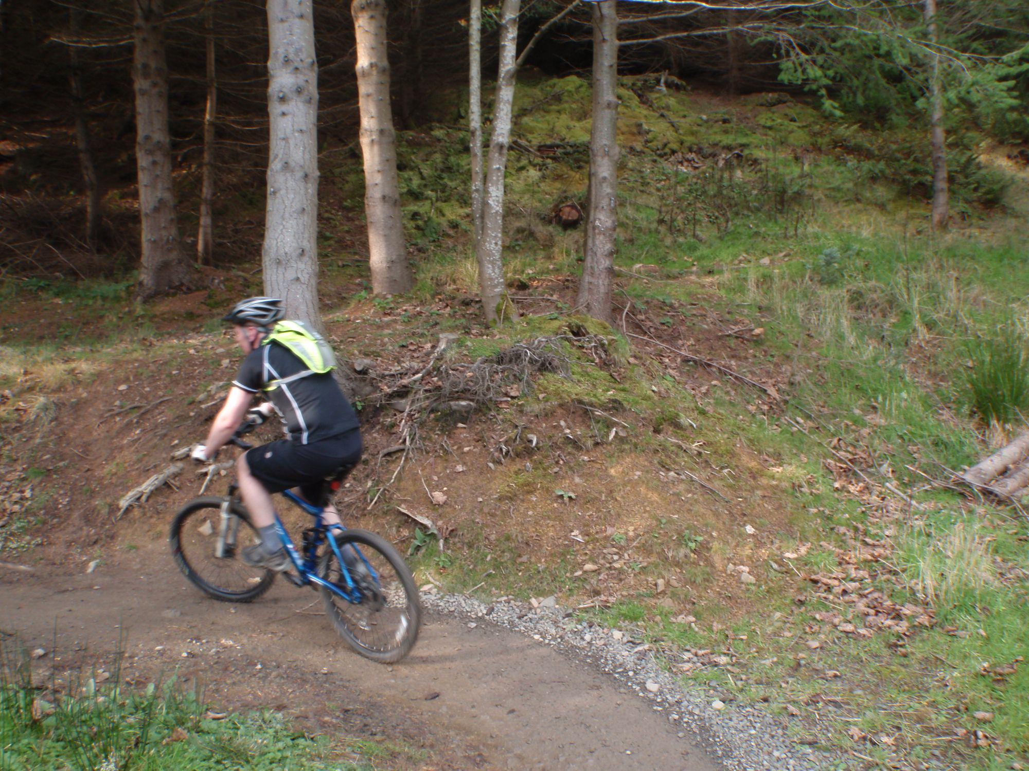 Mountain biking in the Tweed Valley