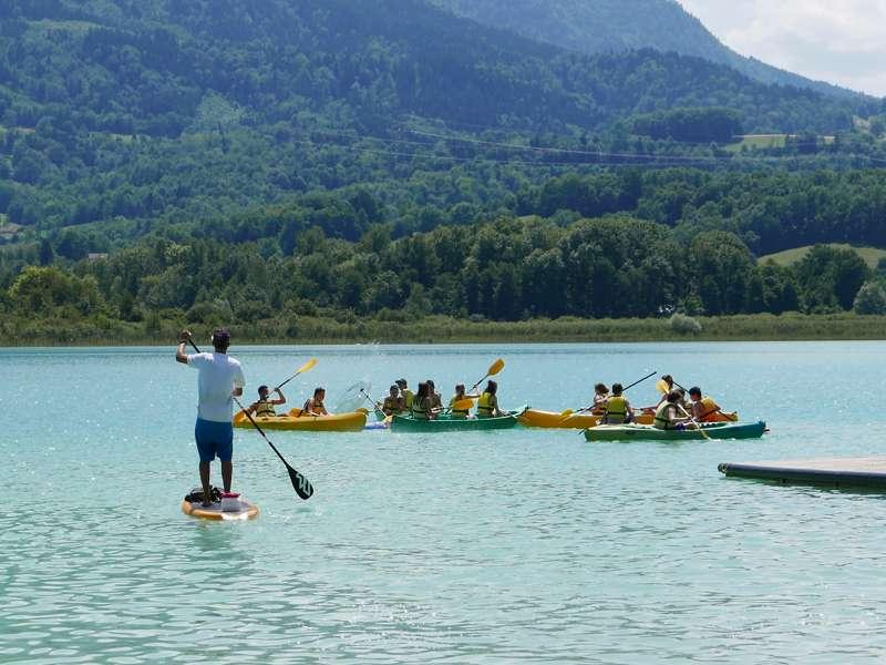 Huttopia Lac d' Aiguebelette Lac Rive Ouest, 73610 St Alban De Montbel, Savoie, France