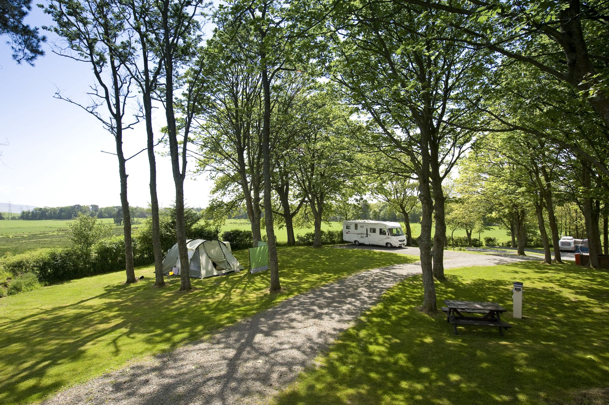 Located within six acres of mature Cumbrian woodlands, yet only 500 meters from the seafront.