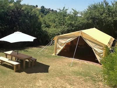 African Safari Tent 1