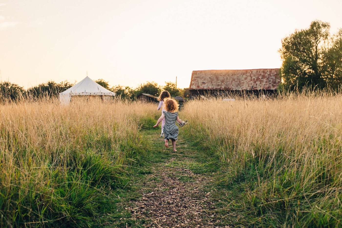 Family-friendly campsites in Norfolk