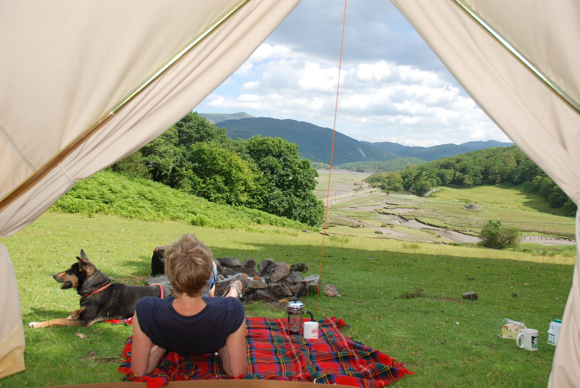 Campsites in Barmouth holidays at Cool Places