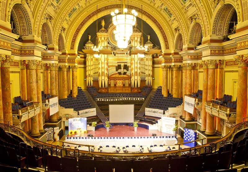 Concert season at Leeds Town Hall