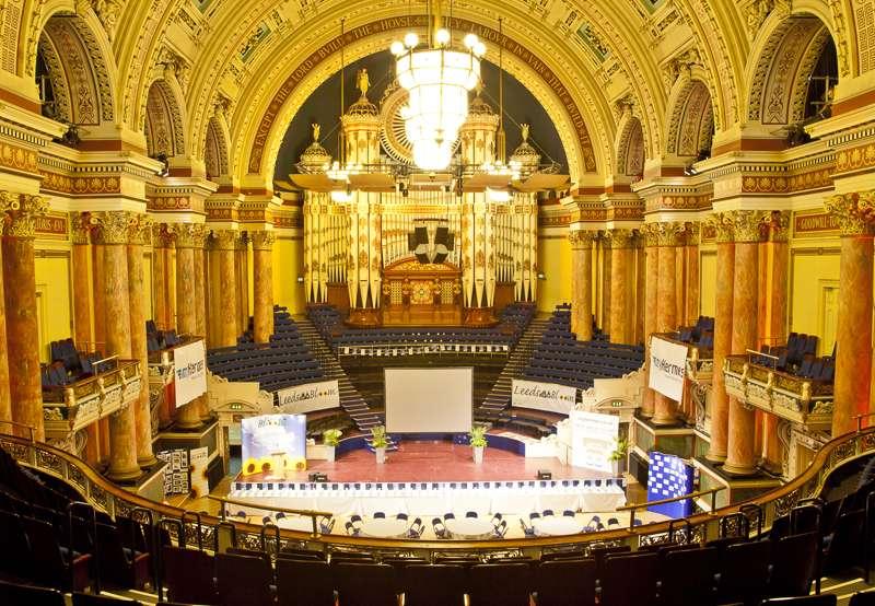 Concert season at Leeds Town Hall