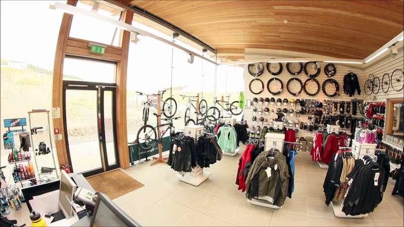 Alpine Bikes at Glentress