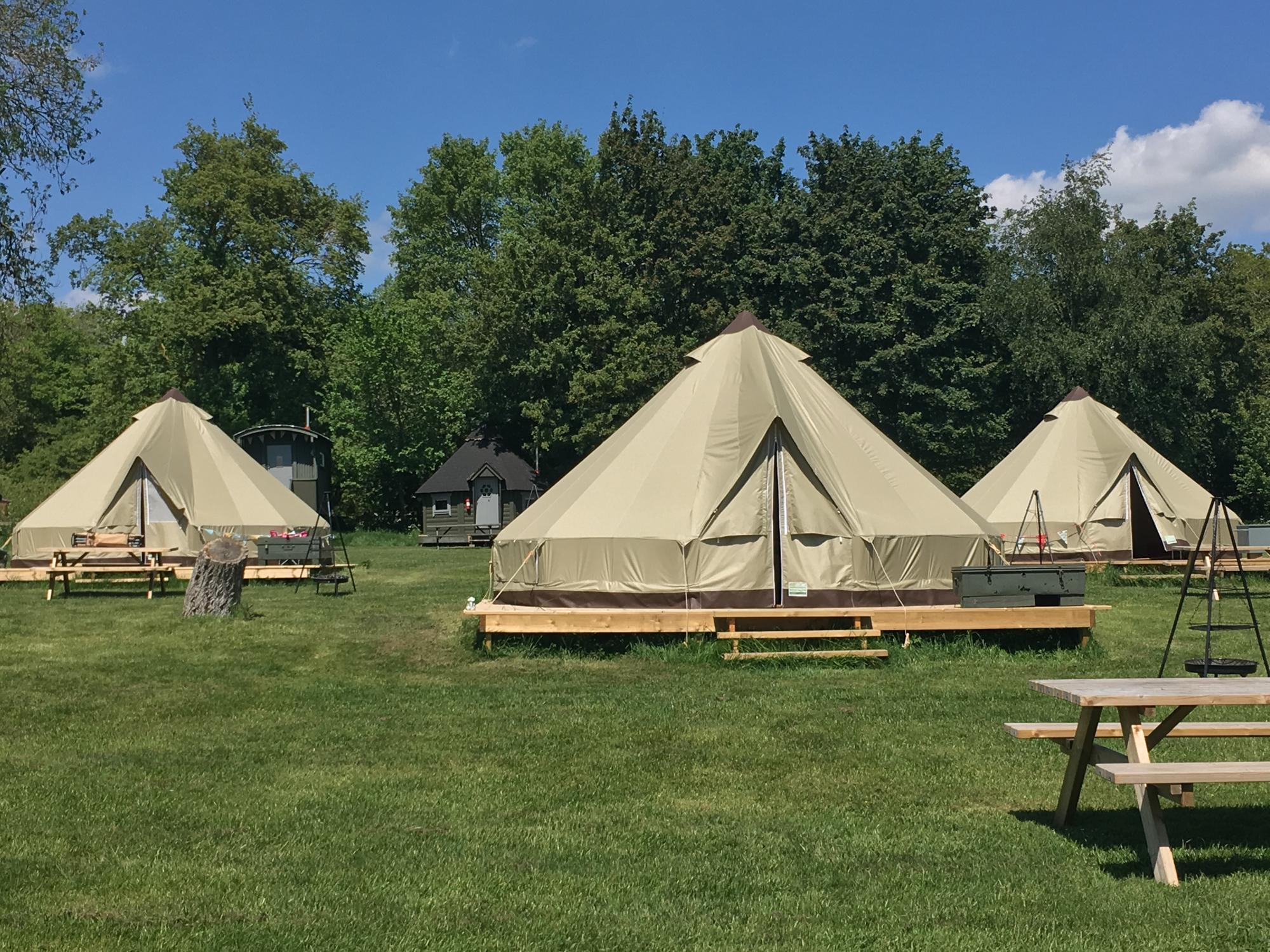 Glamping in Stowmarket holidays at I Love This Campsite