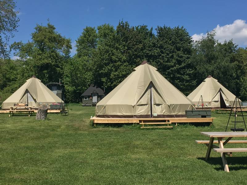 The Walnut Bell Tent