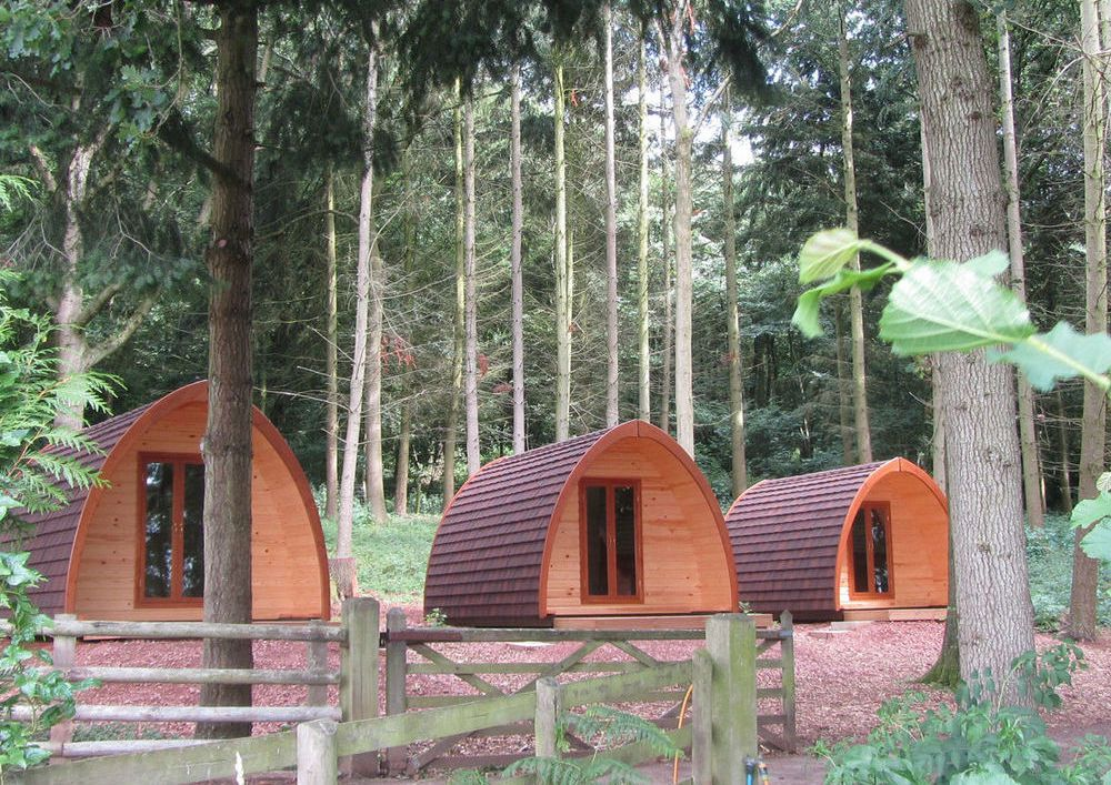 The Best Pod Camping Sites for New Years Day 2017