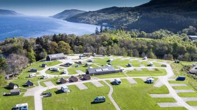 Loch Ness Shores Camping and Caravanning Club Site Loch Ness Shores, Monument Park, Lower Foyers, Inverness IV2 6YH